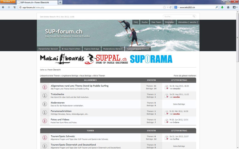 sup-forum.ch – Das Forum für schweizer Stand Up Paddler