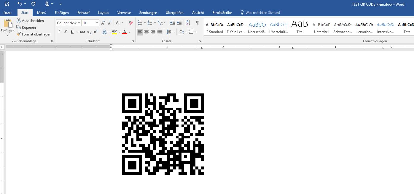 Barcode erstellen mit Word 2013 – ohne zusätzliches Plug-In - QR ...